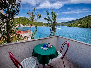 Apartments Malo Lago - One-Bedroom Apartment with Balcony and Sea View - Attic