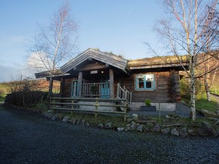 73277 Log Cabin situated in Coniston Water (9mls S)