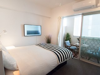 PRIME LOCATION 1min walk from SHIBUYA station + New Renovated Room + Pocket WiFi