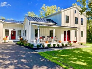 Luxury Sheldrake Farm House on Cayuga Lake Wine Trail, Finger Lakes