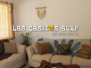 Cozy Casita only 200Ft Away from World-Class Surf