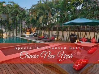 FABULOUS FAMILY VILLA!!4BR/4BTH*SEMINYAK*BOOK NOW PAY LATER!!!