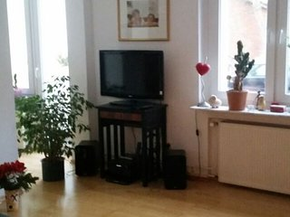 Spacious apartment close to the center of Hanover with Parking, Internet, Balcon