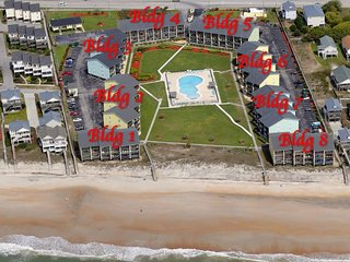 OCEANFRONT & COMMUNITY POOL! - Top of The Surf