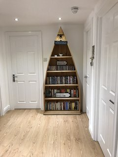 A variety of books, CDs and DVDs is available during your stay, including some for children.