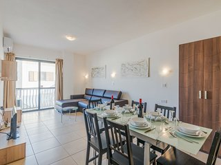 Spacious Living-Dining room with Air-conditioning, Internet WiFi and IPTV with hundreds of channels
