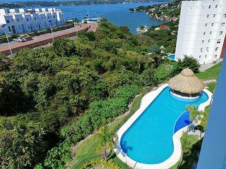 Vista a Teques, club nautico para 8 ps, jardines de Mexico
