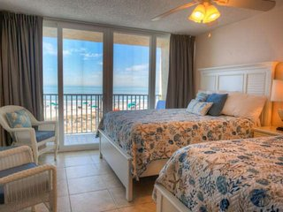 Relax on Your Private Beachfront Balcony.  Fresh and Comfortable.  Great Family