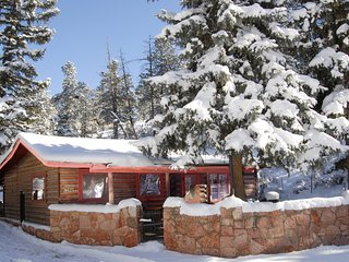 2 bedroom Cabin Rental at Pikes Peak near Colorado Springs & Manitou Springs