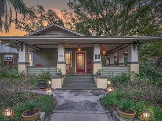 HISTORIC PRIVATE BUNGALOW, SEMINOLE HEIGHTS⚡TAMPA