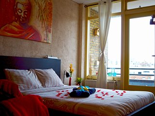 Our Best Greatest Tiger Room in Fantastic Rotterdam Apartment