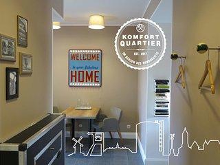 Komfortquartier - Apartment mit Balkon