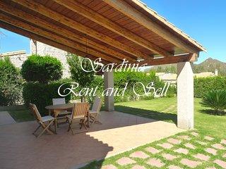 Cala Sinzias, Villa Stella, 4 persone, aria condizionata, 500 metri dal mare