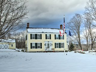 NEW! Historic Bradford Home-8 Mi to Mt. Sunapee!