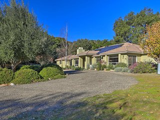 Arroyo Grande Horse Ranch Home w/ Mtn Views!