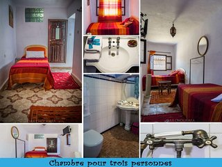 RIAD DAR CHOURAFA ORANGE ROOM
