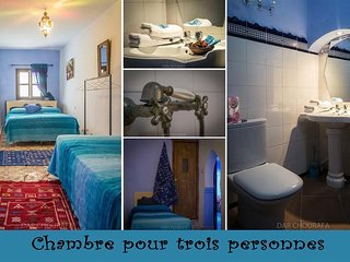 RIAD DAR CHOURAFA BLUE ROOM