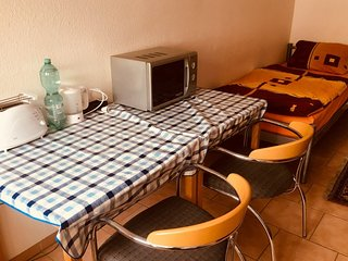Cosy studio in Hanover with Parking, Internet