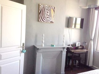Cozy house in the center of Le Treport with Parking, Internet
