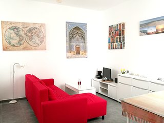 Spacious apartment in the center of Cadiz with Lift, Parking, Internet, Washing