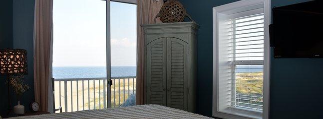 view of ocean from corner master bedroom