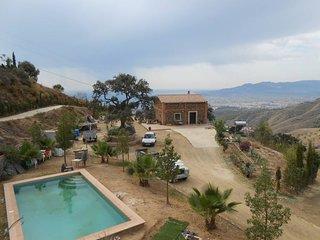 Spacious villa in Malaga with Parking, Internet, Washing machine, Pool