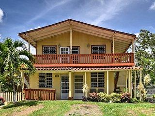 NEW-Boqueron Home w/Rooftop-Mins to Boqueron Beach