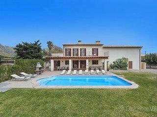 6 bedroom Villa in Port de Pollença, Balearic Islands, Spain : ref 5736721