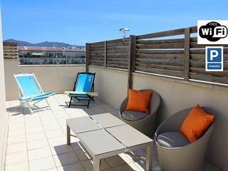 0117-P. MOXO TAMARA Apartamento con terraza, vistas al canal y garaje
