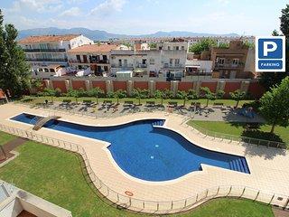 0149-PUIG ROM Apartamento con piscina comunitaria y parking