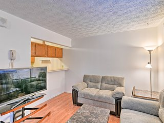 NEW! Anchorage Condo w/Fireplace - 1.6 Mi. to UAA!