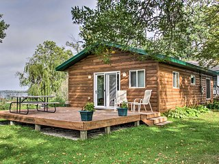 Lakefront Henning Cabin w/ Fantastic Lake Views!