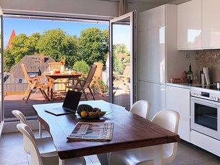 Refugium Rerik - Ferienwohnung mit 2 Schlafzimmern und Sonnenbalkon