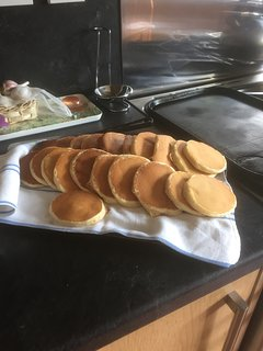 Freshly made Scotch Pancakes