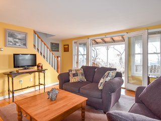 #112: Hilltop P-town home, sweeping views of Cape Cod Bay, steps from the beach!