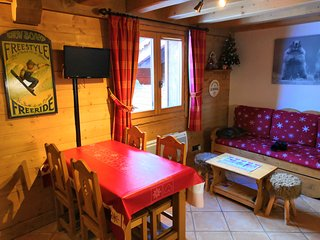 Apartment at the heart of the resort of Sainte-Foy-Tarentaise