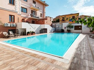 Cozy apartment in the center of Santa Teresa Gallura with Air conditioning, Pool