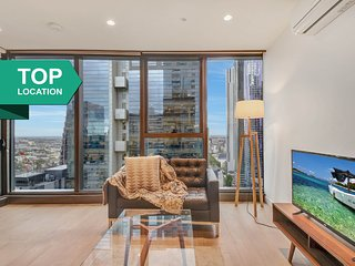 A Stylish 2BR CBD Suite Next to Melbourne Central