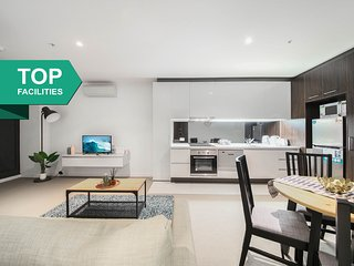 A Cozy CBD Apt Near Southern Cross + Pool & Gym