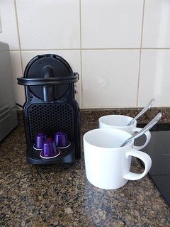 Nespresso coffee machine with a few pods to get you started