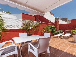 Precioso atico en el centro de Malaga con terraza privada