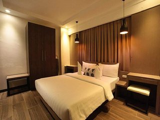 Bienvenue a Cebu+80sq.m 2 bedrooms+near Ayala for 8 pax