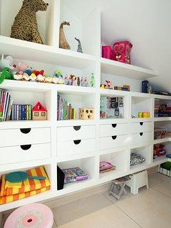 Kid toys room