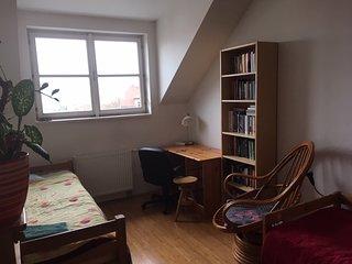 Cosy room close to centre of Prague