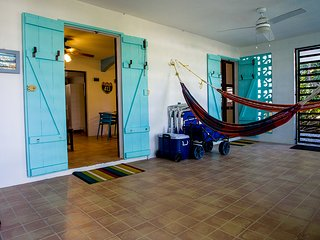 ★ Eco-Friendly Surf House | Patio with 2 Hammocks | Steps to Beach ★