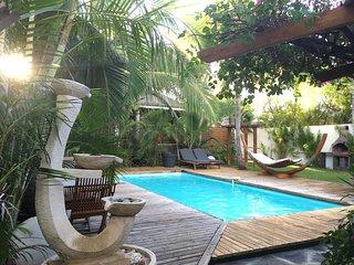 T3 «Alamanda» privé - piscine, bord de mer