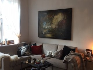 Newly refurbished, spacious apartment in central Oslo