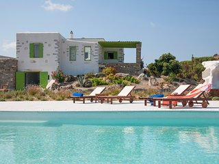 Villa Aeolos with 2 private pools, breathtaking sea view