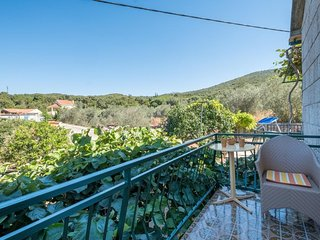Apartments Saulan - One Bedroom Apartment with Balcony and Garden View (Molunat)