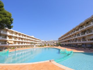 Studio 4 pax and A / A with pool in Cambrils.